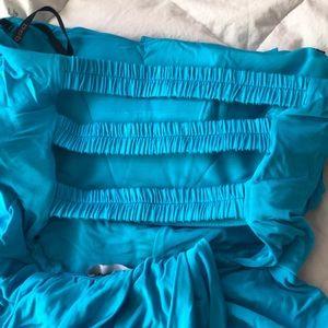 bebe Dresses - Teal blue Bebe club dress medium